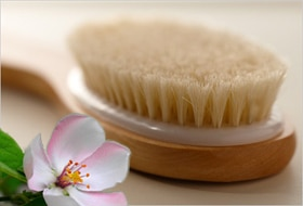 Dry Brush Your Dry Winter Skin AWAY